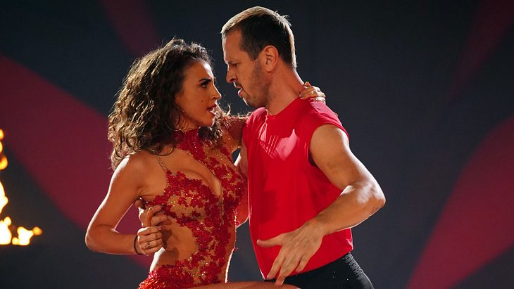 Ekaterina Leonova und Pascal Hens