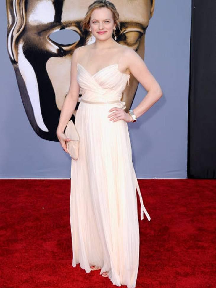 """BAFTA Gala Dinner""""Mad Men""""-Star Elisabeth Moss schaute auch beim BAFTA-Dinner vorbei.,Was wird aus """"Mad Men""""?"""