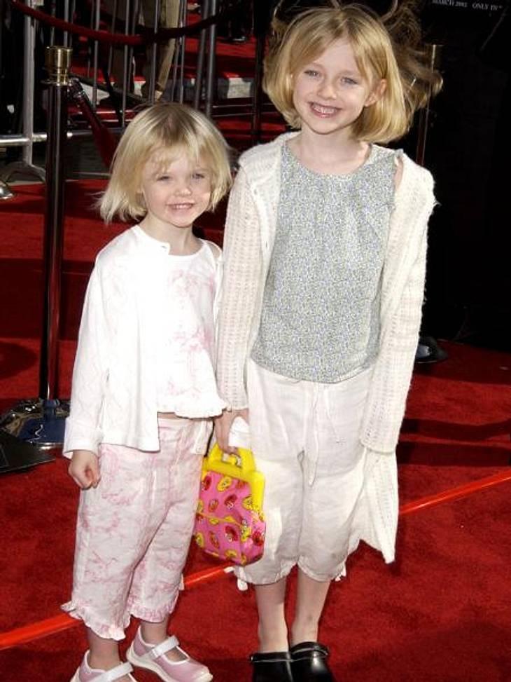 Vom Kinderstar zum Sex-SymbolSo süß und schon so erfolgreich: Elle (links) hatte ihre eine erste Filmrolle mit drei Jahren, ihre Schwester Dakota (rechts) mit sechs.