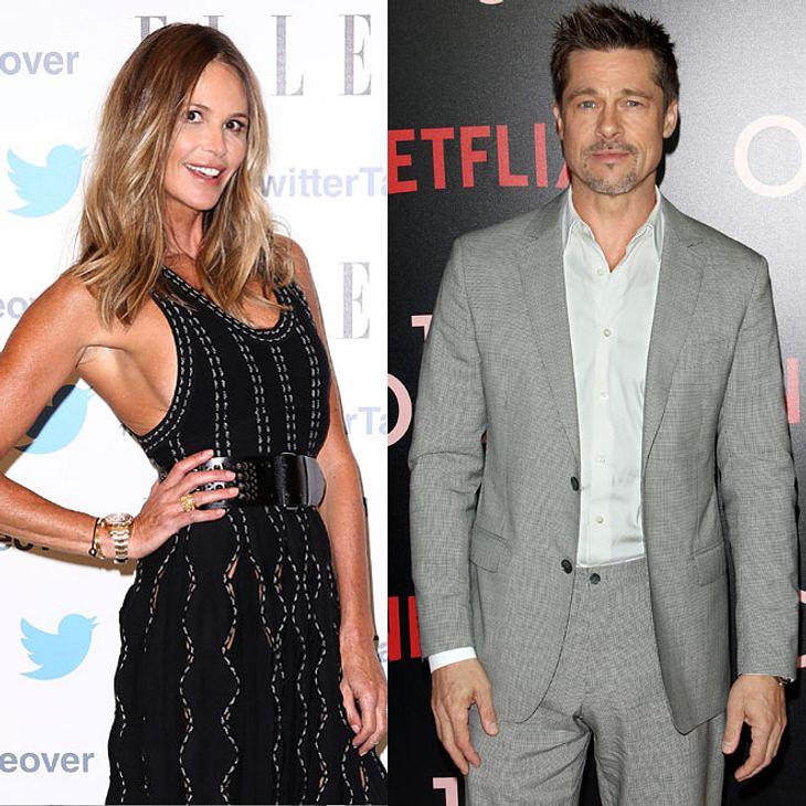 Elle MacPherson und Brad Pitt