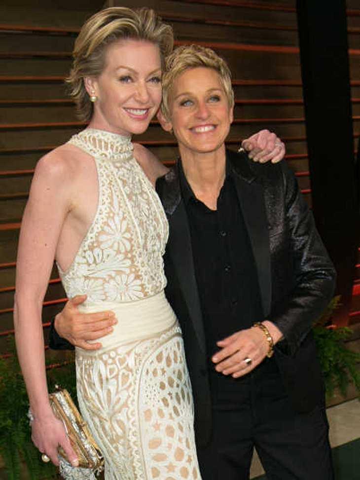 Portia de Rossi und Ellen DeGeneres: Große Ehekrise
