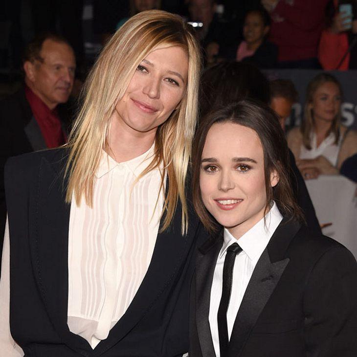 Ellen Page zeigt ihre Freundin Samantha Thomas