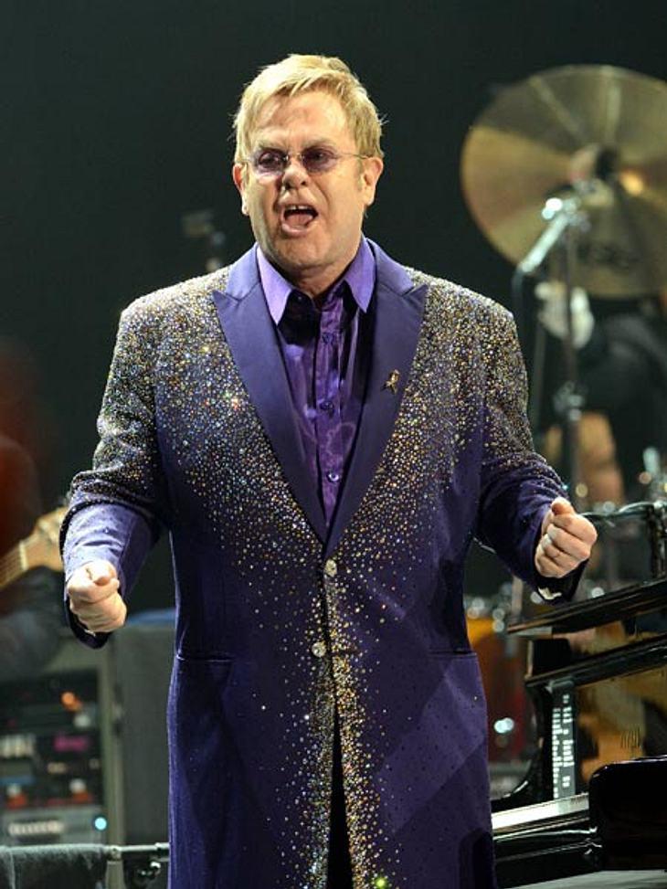 Elton John ist sauer und ruft zum Boykott auf