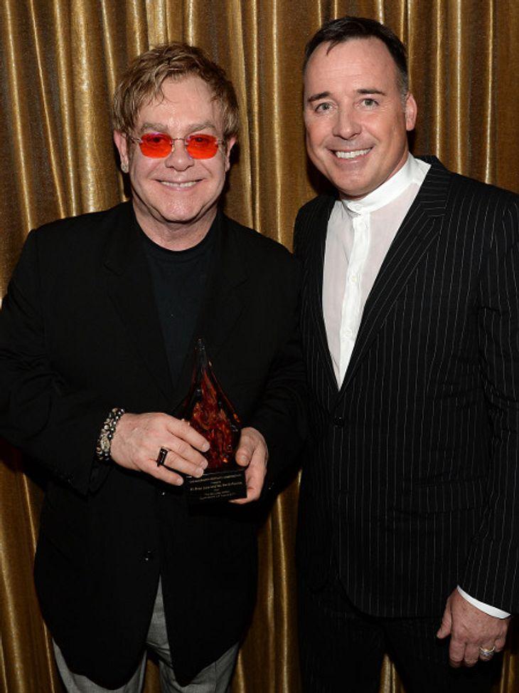 Elton John und David Furnish stehen kurz vor der Hochzeit