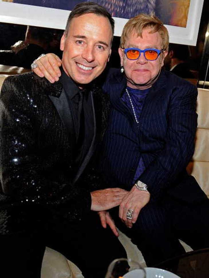 Elton John & David Furnish: Hochzeit im Mai