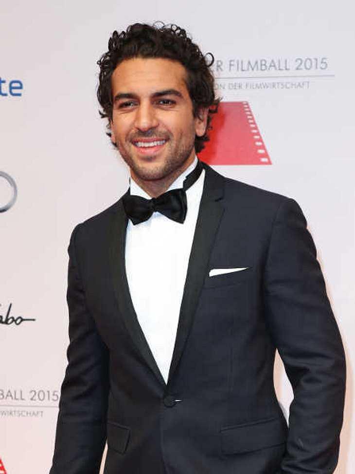 Elyas M'Barek war zu Castings in New York.