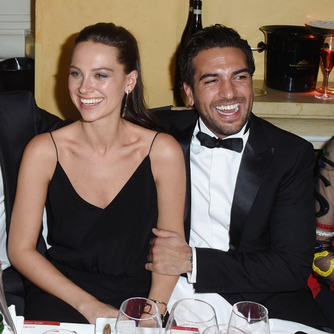 Elyas M'Barek mit seiner Freundin Julia Czechner