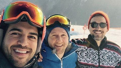 Elyas MBarek: Männer-Skitrip im Zillertal - Foto: Instagram / Elyas MBarek