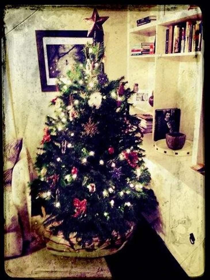 Ho Ho Ho - Stars im WeihnachtsfieberEmily VanCamp (26) gewährt einen Blick in ihr gemütliches Heim.