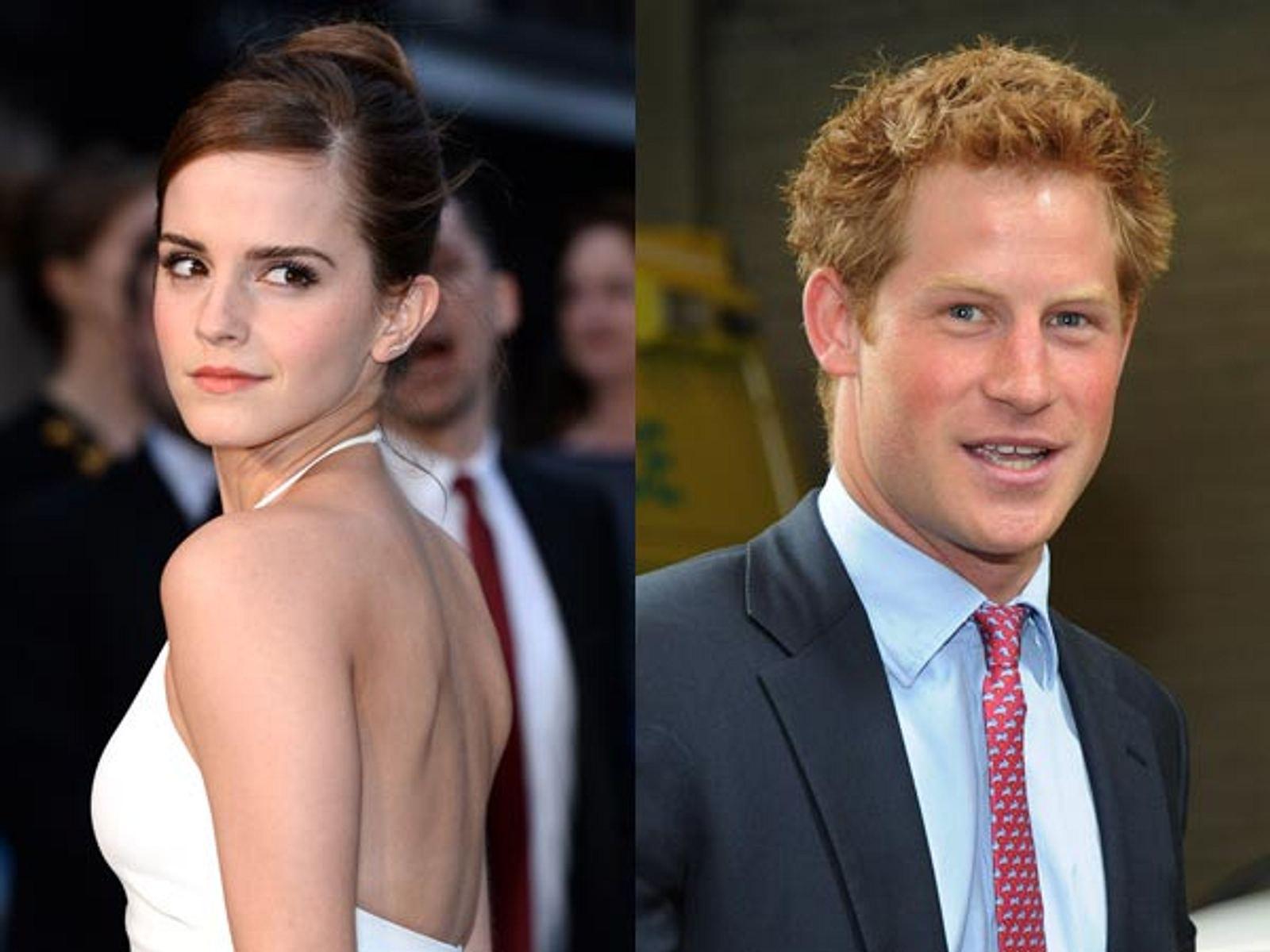 Emma Watson und (Nackt-) Prinz Harry: Sie könnten das