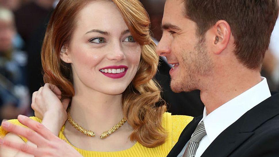 Emma Stone turtelt wieder mit Andrew Garfield