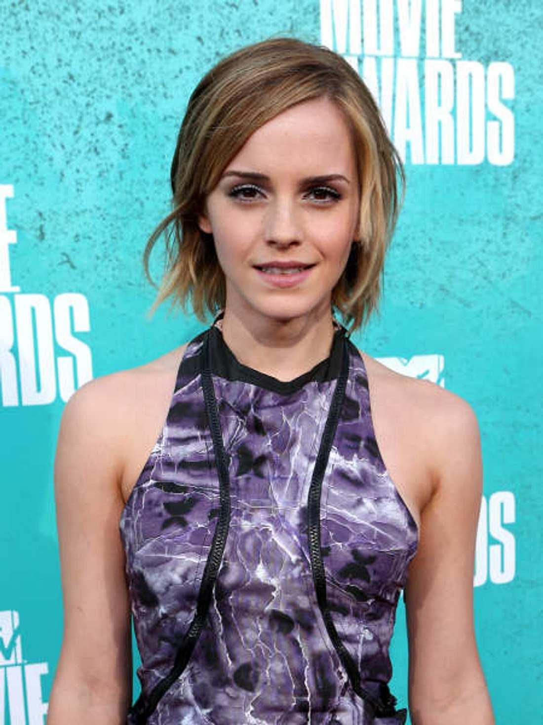 Jungs stehen nicht auf Emma Watsons kurze Haare
