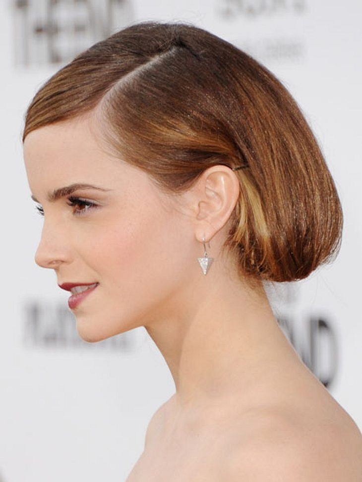Emma Watson Die Premieren Looks Ihrer Haare Bild 4 Von 10