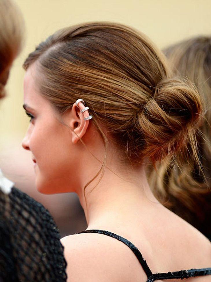 Emma Watson: Haare im Frisur-CheckDer Dutt der 23 jährigen ist locker, flockig & lässig...