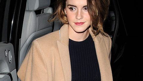 Emma Watson halbiert wieder ihre Haarlänge
