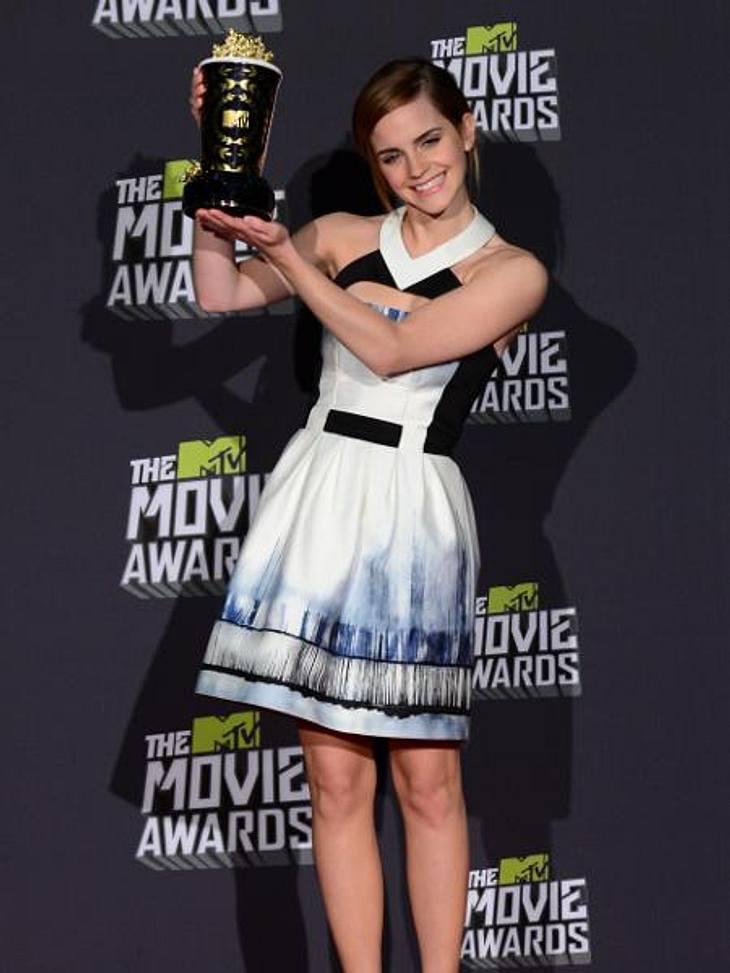 Emma Watson räumte bei den MTV Movie Awards 2013 ab