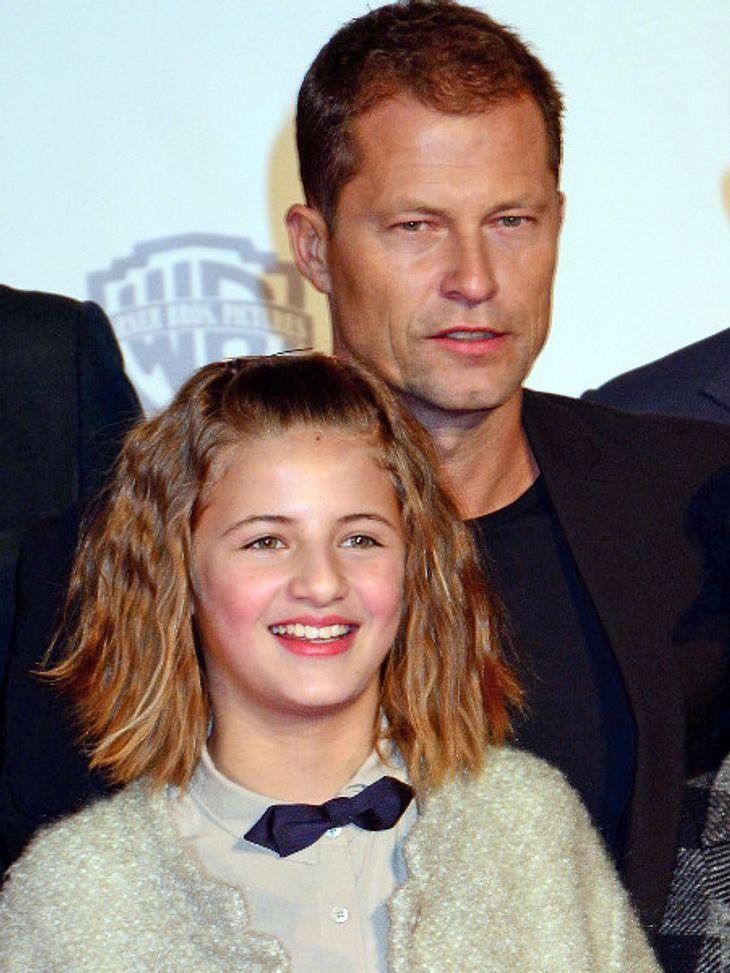 Emma Schweiger stand mit fünf Jahren zum ersten Mal vor der Kamera.