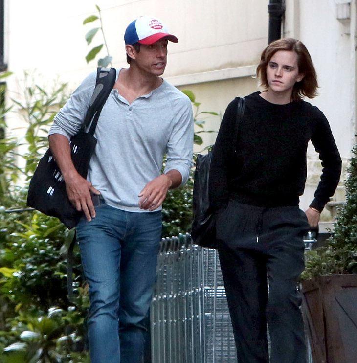 Emma Watson und ihr Freund William Knight