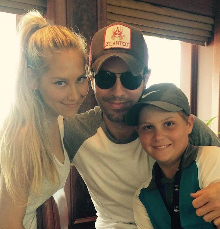 Enrique Iglesias & Anna Kournikova: Seltenes Liebes-Selfie