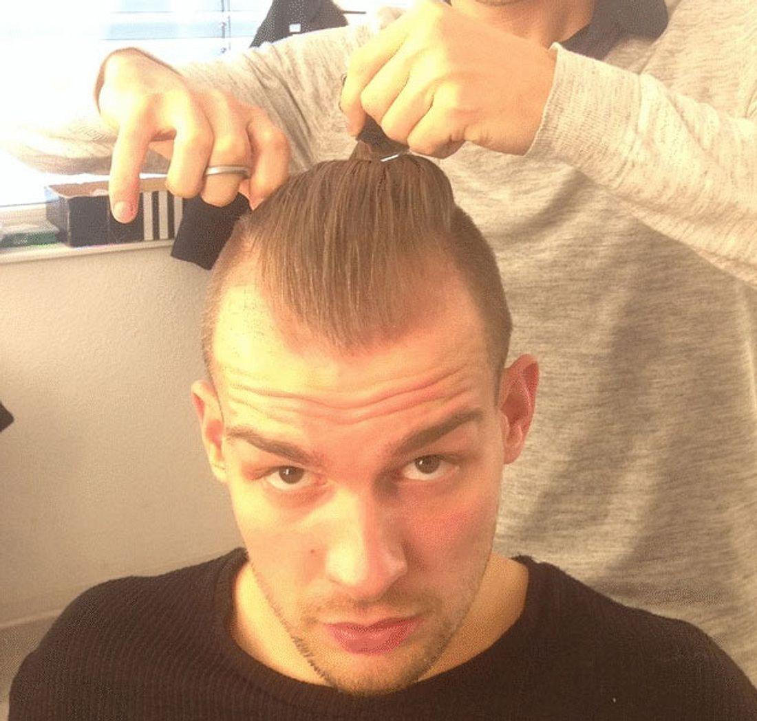 Eric Stehfest Haare ab