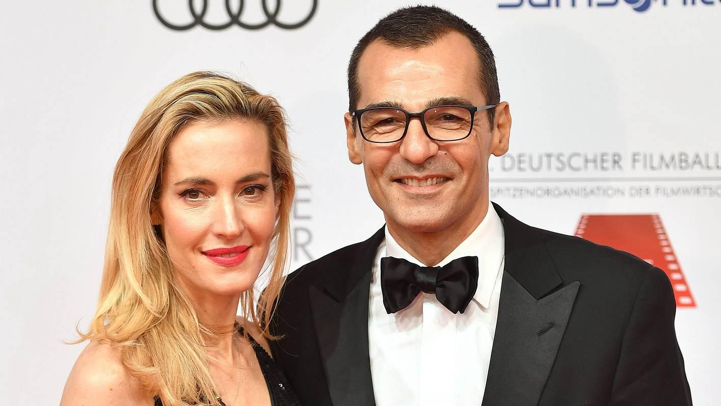 Erol Sander und seine Frau Caroline Goddet