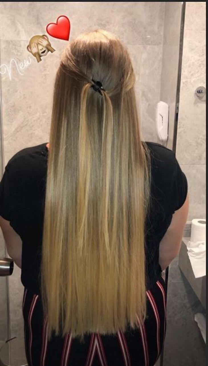 Estefania Wollny hat eine neue Frisur