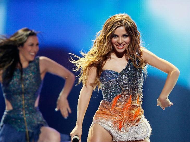 Eurovision Song Contest 2012: Highlights,GriechenlandWenig Stoff, wenig Stimme, aber viel Stimmung. Die Griechin Eleftheria Eleftheriou überzeugt eher mit Beinen, als mit Stimmgewalt. Dennoch lässt sich nicht abstreiten, dass ihr Poptitel &
