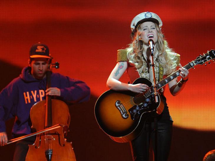 Eurovision Song Contest 2012: Highlights,DänemarkSoluna Samay gehört zu den traurigen Verlierern beim Eurovision Song Contest 2012; mit 21 Punkten reichte es gerade mal für Platz 23. Schade, denn die 22-Jährige hat wirklich etwas drauf. Ihr