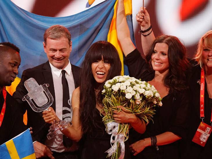 Eurovision Song Contest 2012: Highlights,SchwedenSo sehen Sieger aus... Für die 28-jährige Loreen aus Schweden hieß es: 12 Points! Der Song, der anfangs etwas gruselig anmutet und dann satter wird, ist ein klassischer Dancefloor-Hit. Außerg