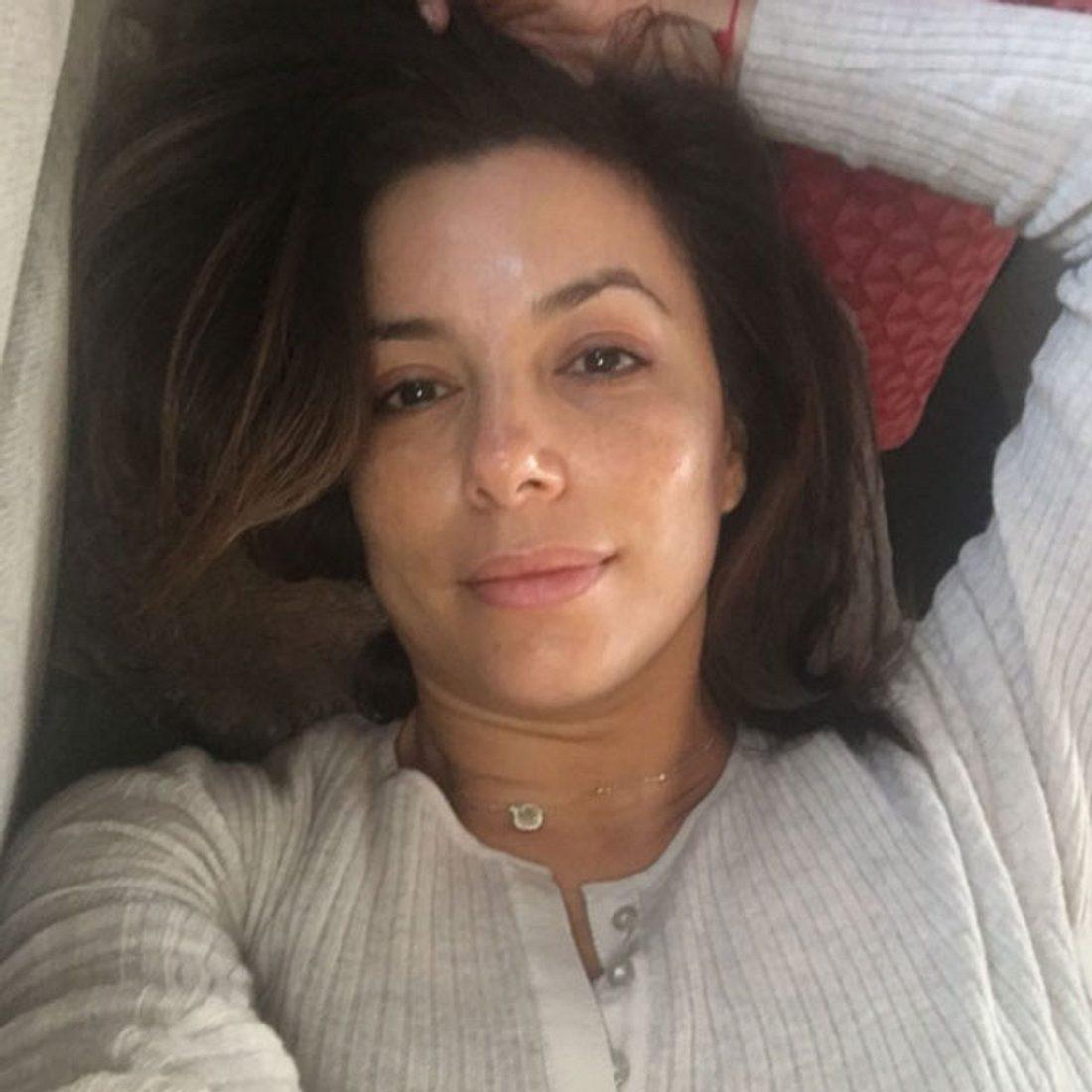 Eva Longoria ungeschminkt