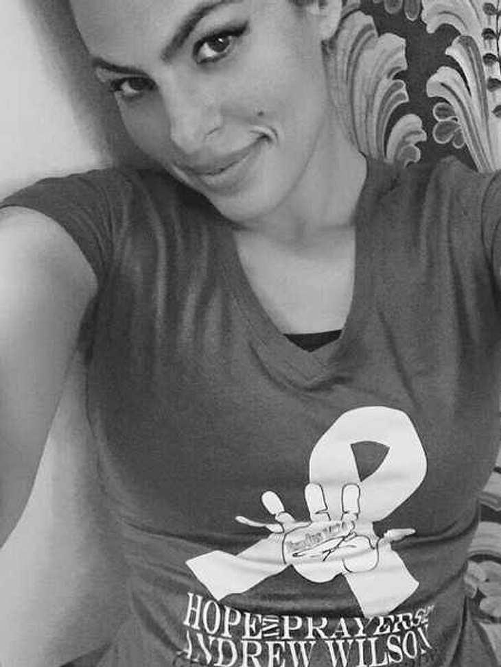 Eva Mendes will mit Selfie Leben retten!