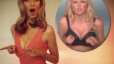 Eva Padberg äfft Heidi Klum nach - Foto: Instagram / YouTube