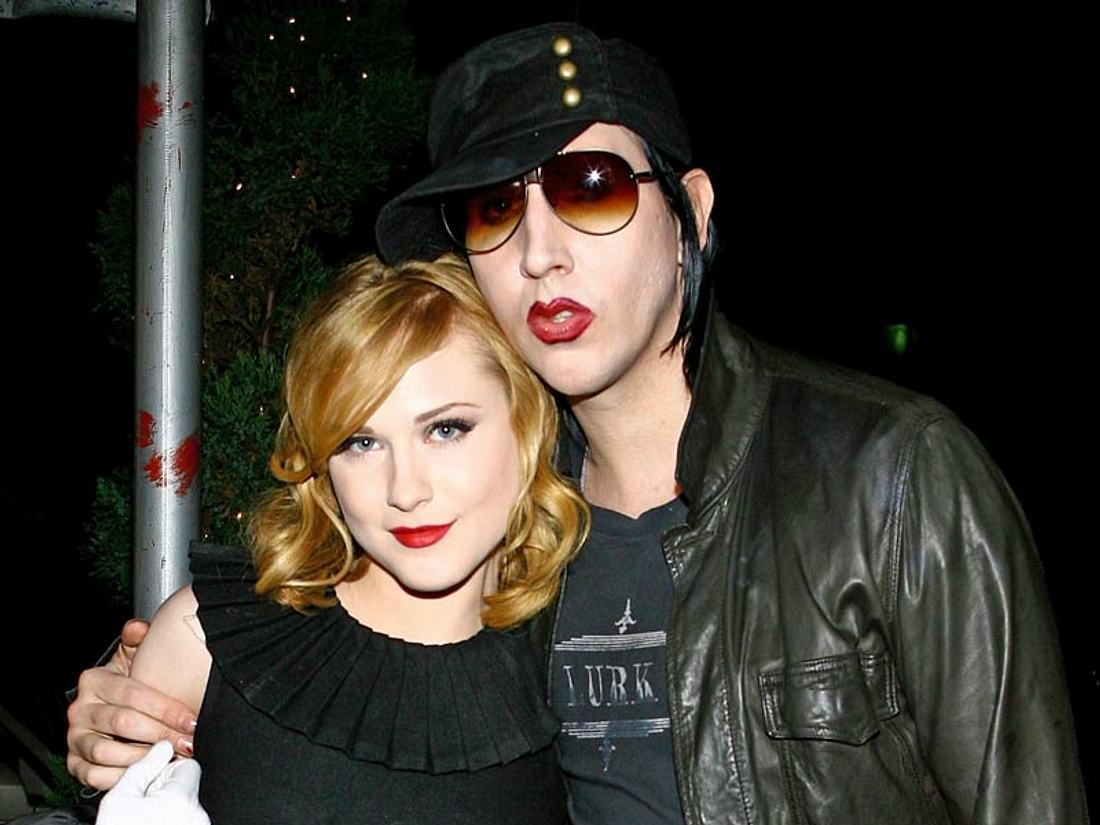 Hält's diesmal? Angeblich wollen Marilyn Manson und Evan Rachel Wood jetzt sogar heiraten!