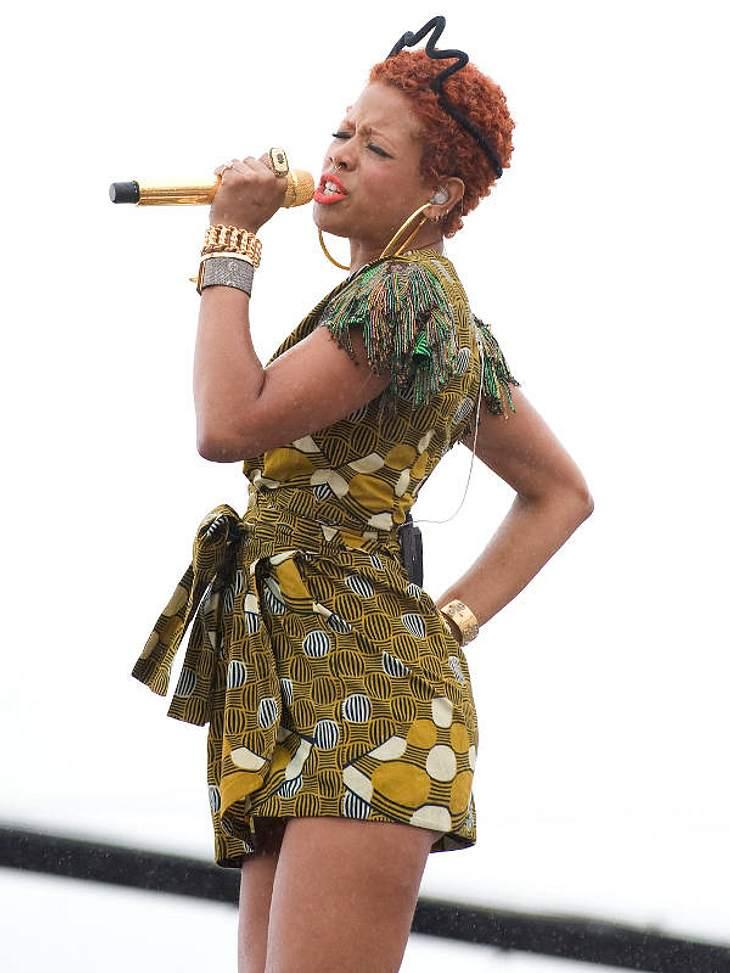 """Kelis stammt aus Harlem, New York, ist seit Jahern feste Hip Hop-Größe und mit Rapper Nas verheiratet. CD-Tipp: """"Flesh Tone"""" von Kelis bei Amazon.de"""