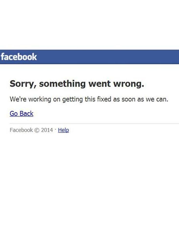 Facebook ist offline