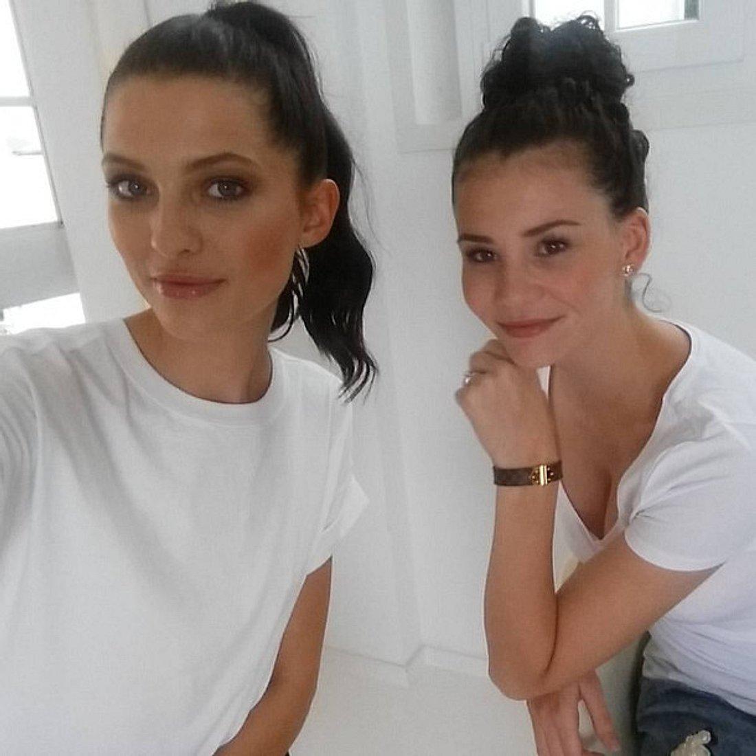 Fata Hasanovic und Betty Taube sind seit Germany's next Topmodel 2014 befreundet