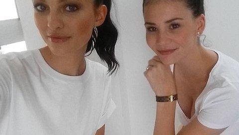 Fata Hasanovic und Betty Taube sind seit Germanys next Topmodel 2014 befreundet - Foto: Facebook/ Fata Topmodel 2016