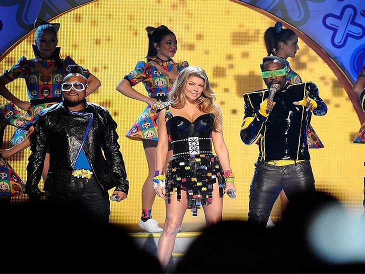Kids Choice AwardsFür die musikalische Untermalung der Kids Choice Awards sorgten die  Black Eyed Peas.