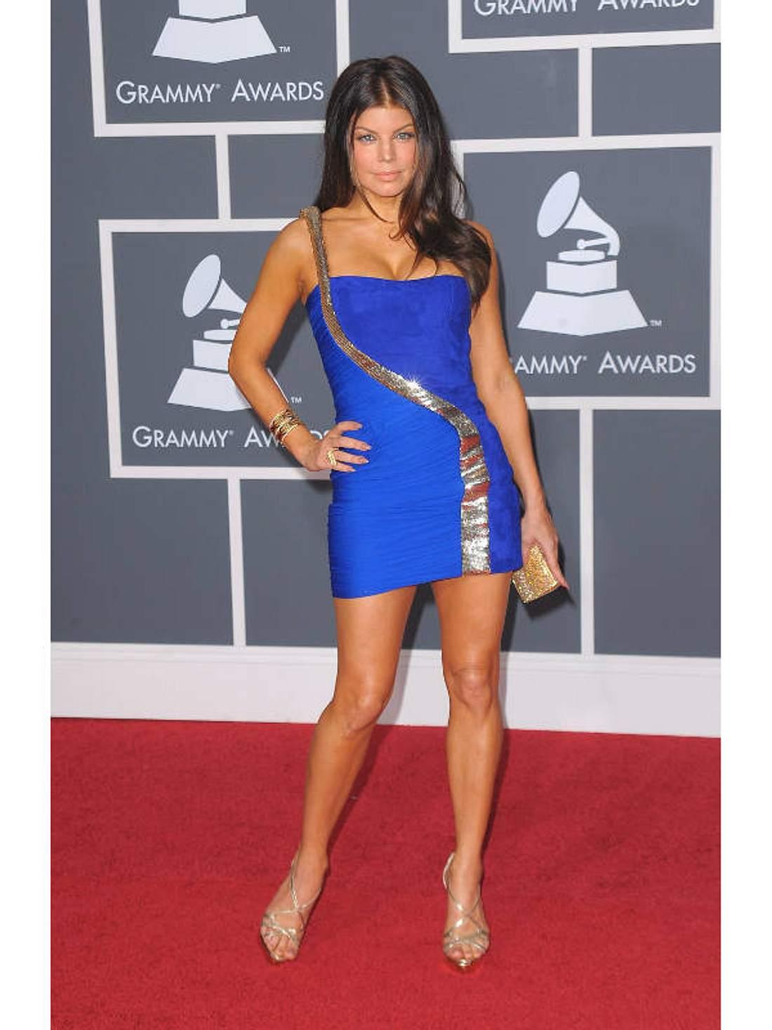 Grammy-Style: Lange Robe war gestern - heute ist Mini angesagt - Bild 1