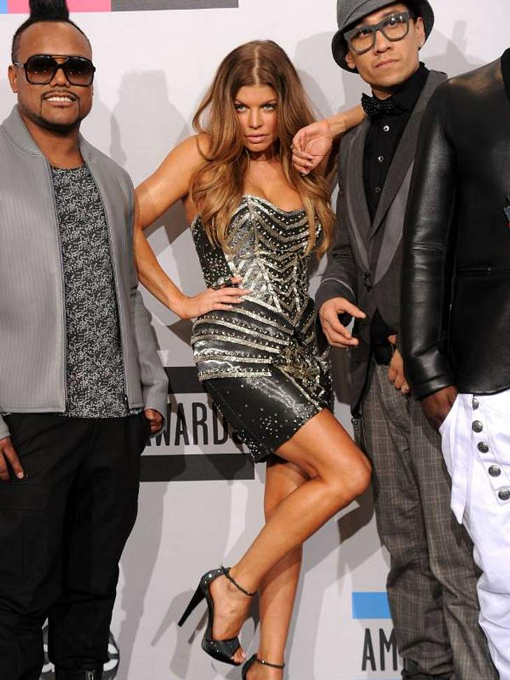 ... Fergie von den Black Eyed Peas.