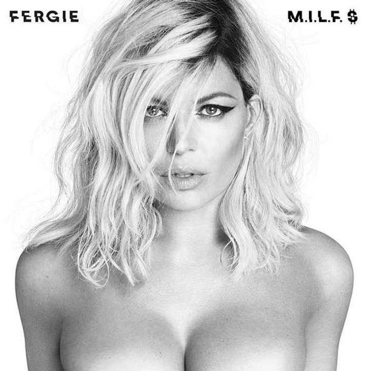 Fergie Oben ohne sexy