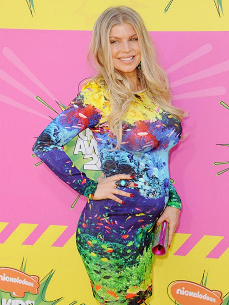 Fergie zeigt ihren Baby-Bauch