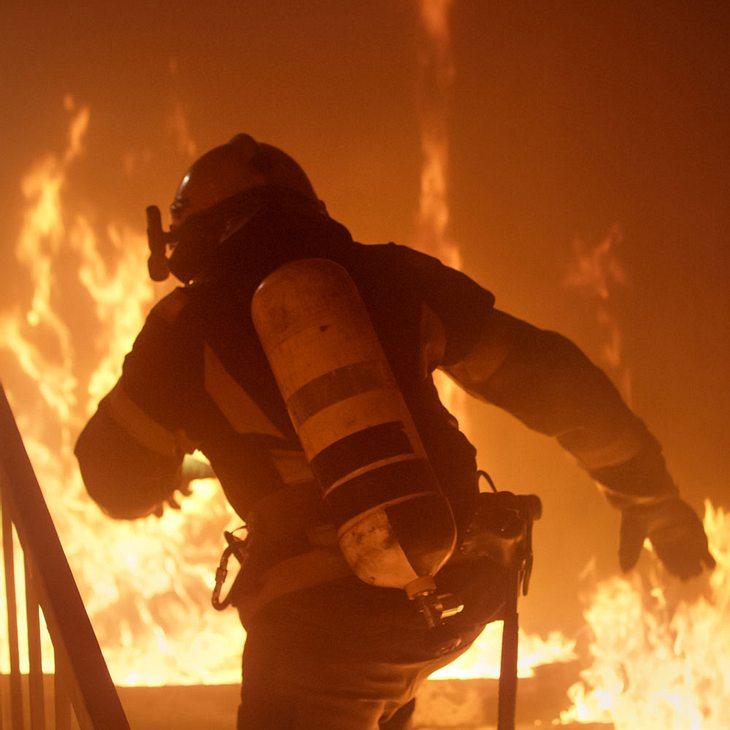 Tote bei Brand in Sauna