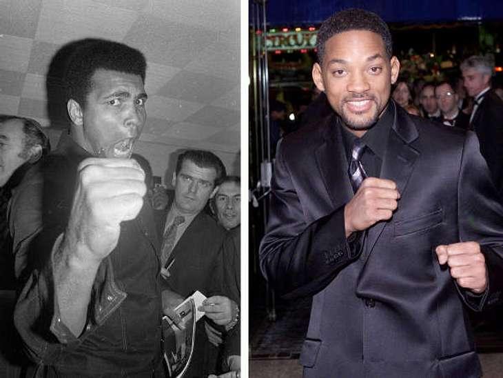 """Film-Biografie""""Ali"""" schildert den Aufstieg des Weltklasseboxers Muhammad Ali. Gespielt wird die sportliche Legende von Will Smith, der einiges an Körpermasse zulegen musste. Für seine schauspielerische Leistung gab es zumindest ei"""