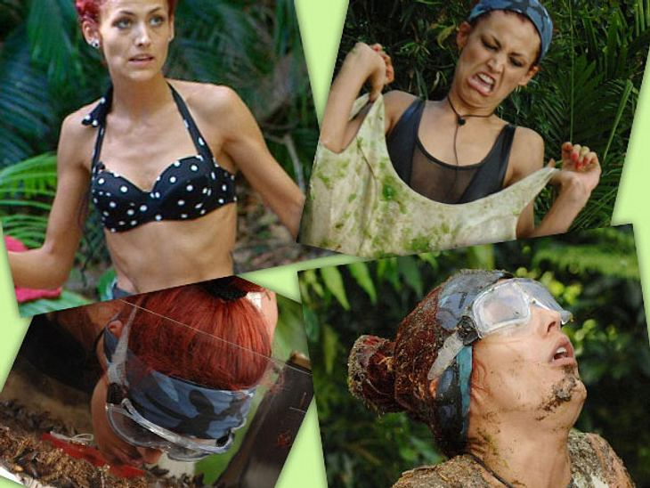 """Fiona Erdmann - der Dschungel-HungerhakenFiona Erdmann hatte keinen guten Start ins Dschungelcamp. Sie machte ihrem Berufs-Stand der Models nämlich keine große Ehre. Die ersten Tage """"kotzte"""" sie sich buchstäblich durchs Camp. Doch"""