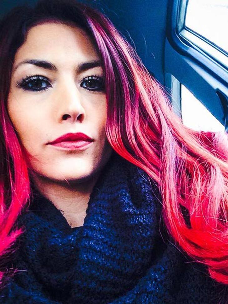 Fiona Erdmann hat wieder rote Haare