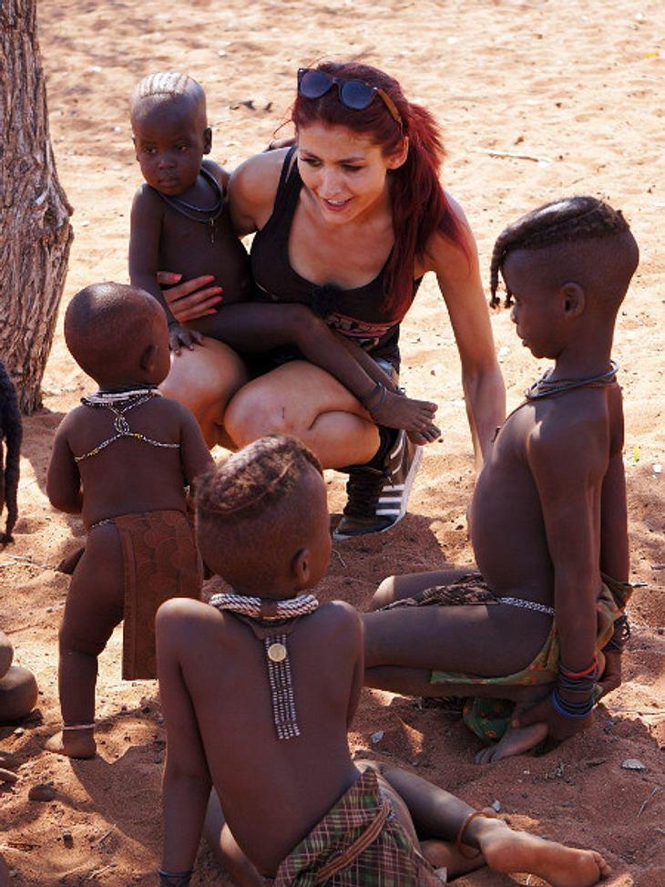 Fiona Erdmann: Sie ist der Star für die Kinder im namibischen Dorf