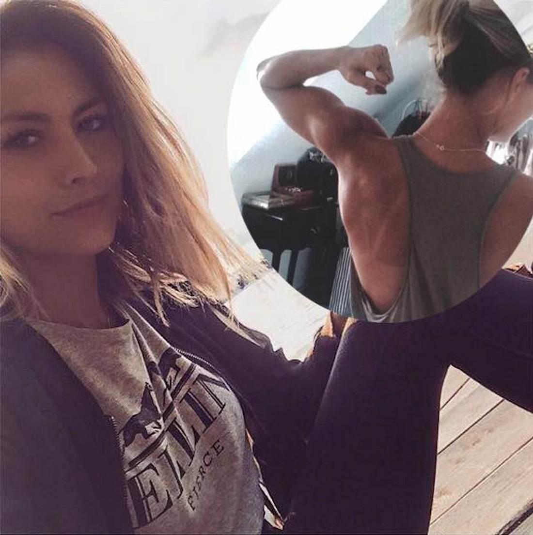 Fiona Erdmann: Sie zeigt ihren durchtrainierten Body