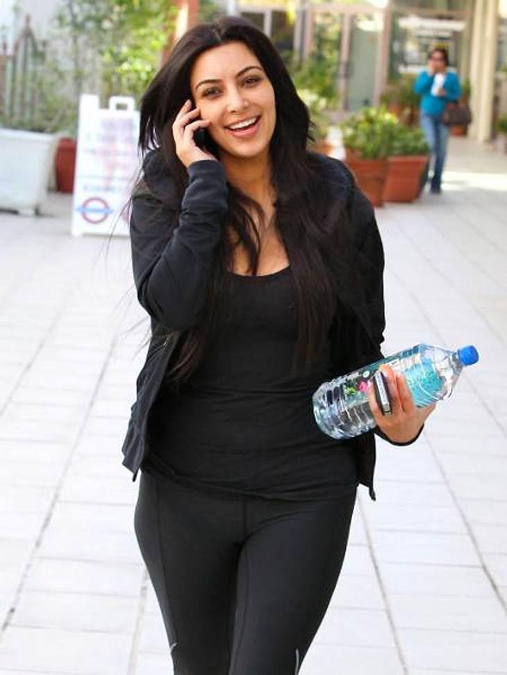 Die Fitnesstrainer der Stars: so macht sich Hollywood fit für den Sommer,Kim Kardashian (31) hält ihre weiblichen Formen mit Sport im Zaum. 2011 hat sie Tracy Anderson für ein Hochzeits-Bootcamp abgeheuert. Die Blitz-Ehe mit dem Basketballe