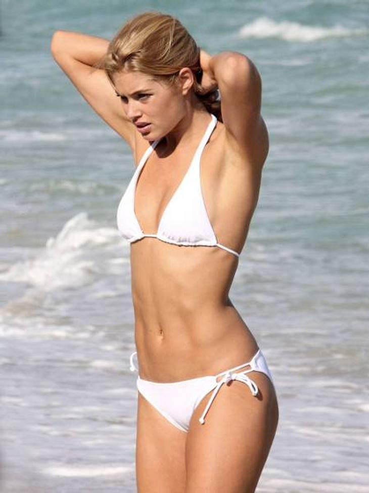 Die Fitnesstrainer der Stars: so macht sich Hollywood fit für den Sommer,Auch Model-Mama Doutzen Kroes (27) ist eine treue Kundin von Personal Trainer Andrea Orbeck.Der Victoria's Secret-Engel macht sich neben einer rohkostreichen Ernährung